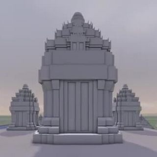 3D modelling of the Temples of Angkor