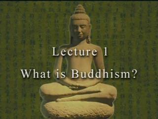 David Eckel on Buddhism 1