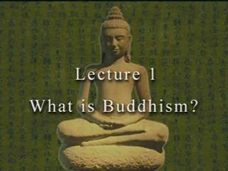 David Eckel on Buddhism 1