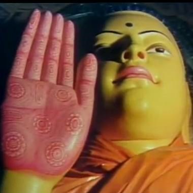 Footprint of the Buddha